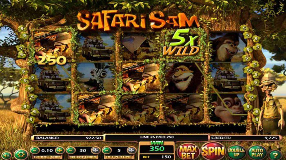 Safari Sam kostenlos spielen 1