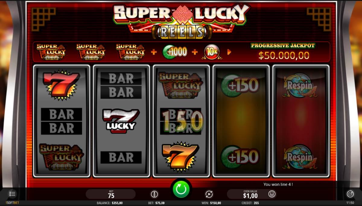 Super Lucky Reels kostenlos spielen 1