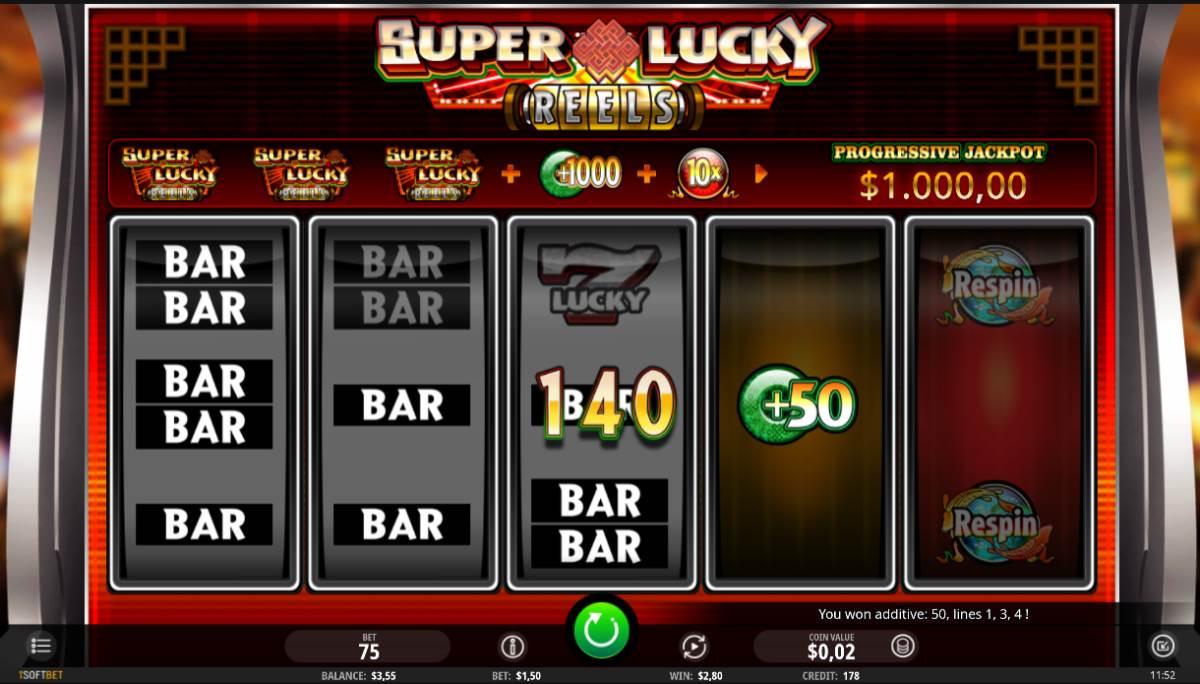 Super Lucky Reels kostenlos spielen 2