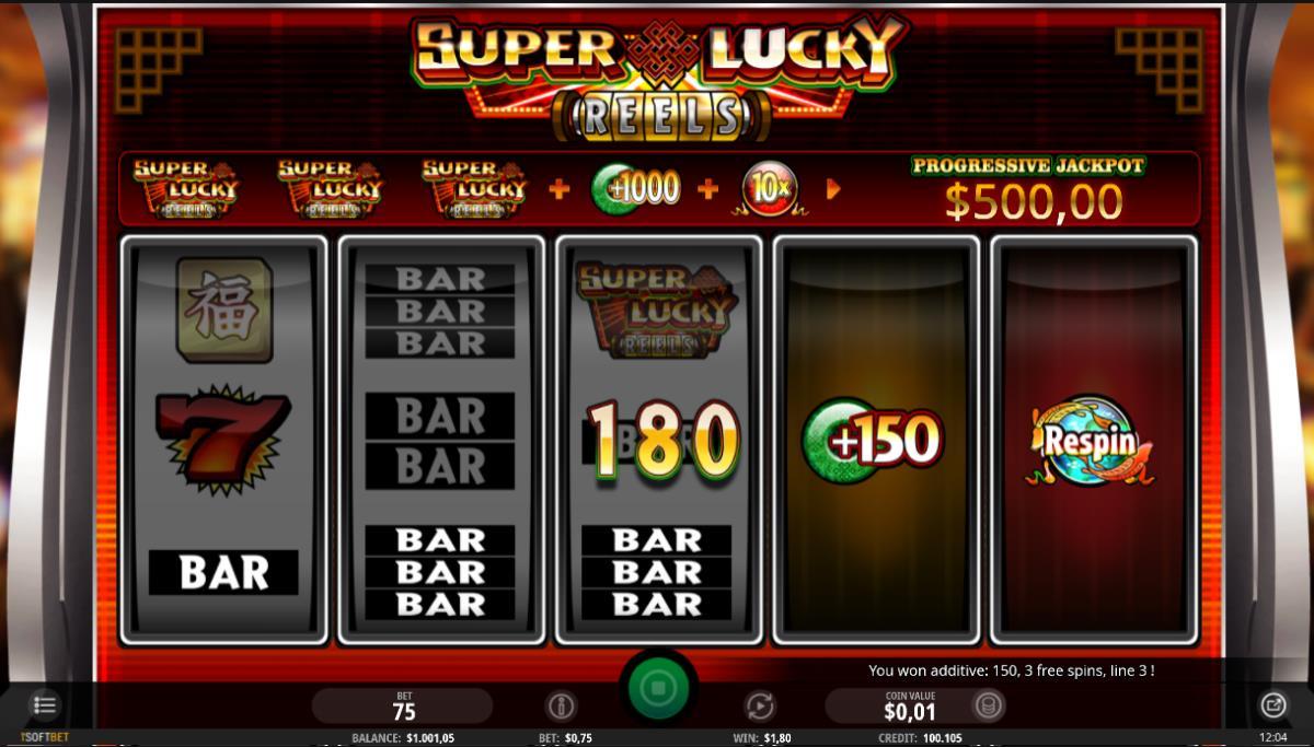 Super Lucky Reels kostenlos
