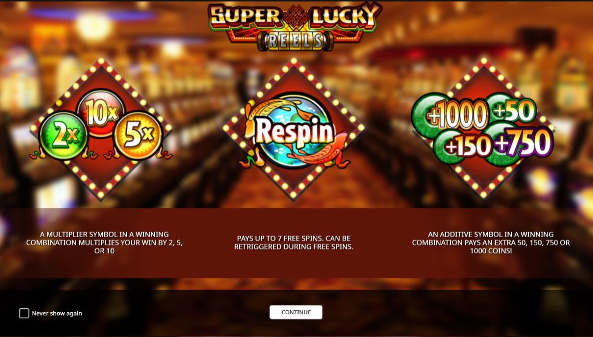 Super Lucky Reels kostenlos spielen 3