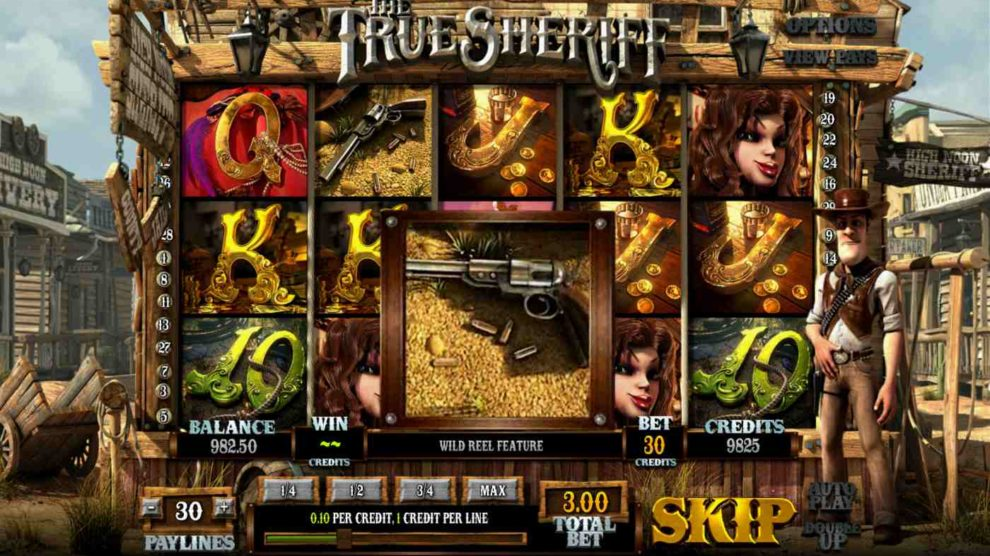 The True Sheriff kostenlos spielen 1