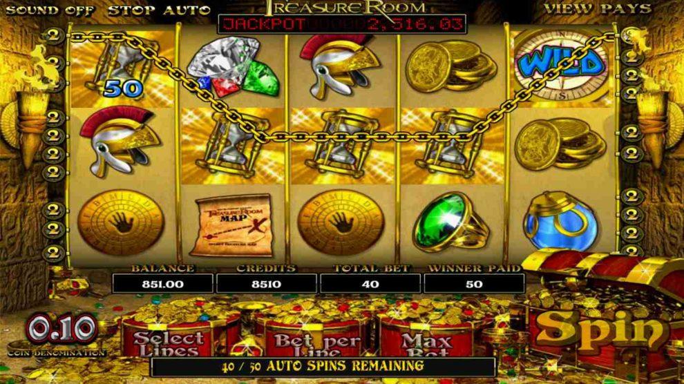 Treasure Room kostenlos spielen 1