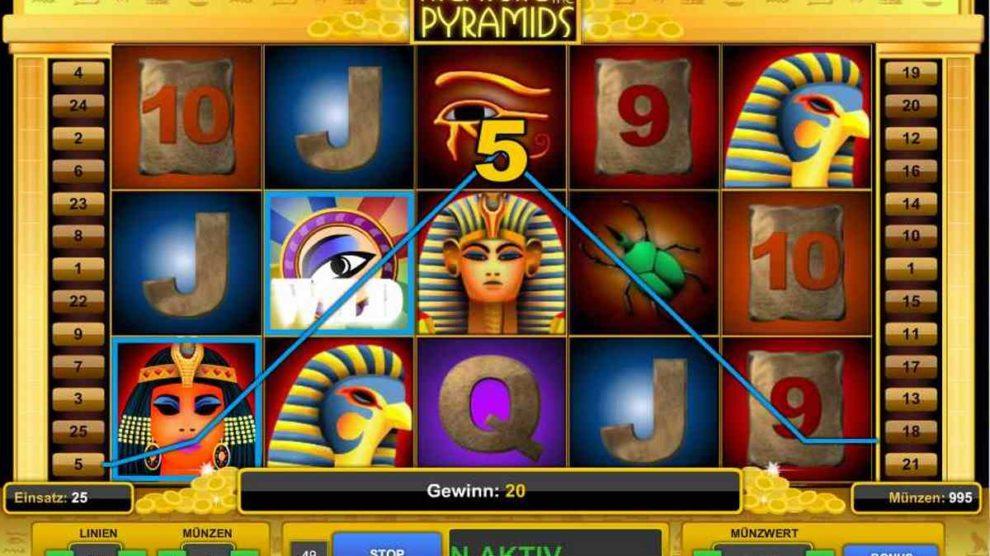 Treasure Of The Pyramids kostenlos spielen 1