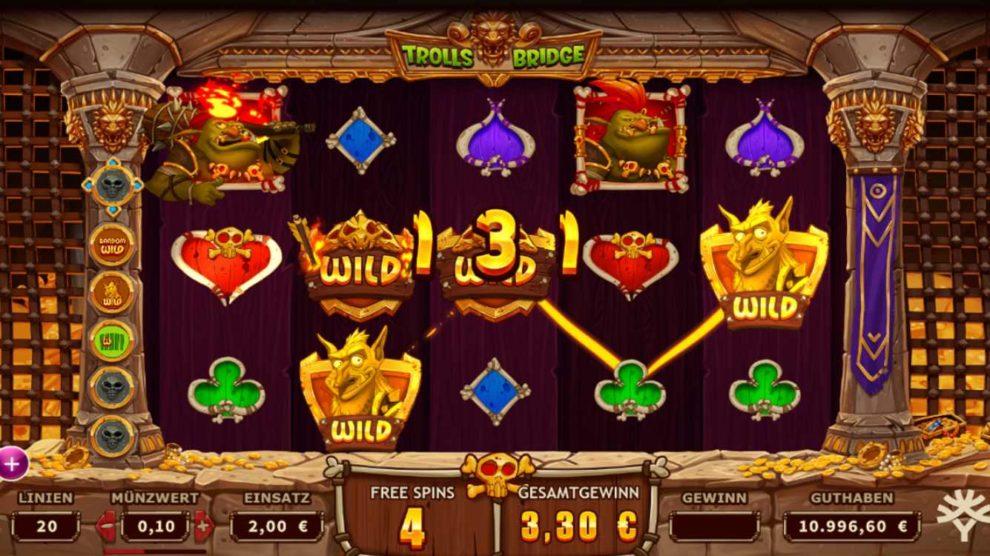 Trolls Bridge kostenlos spielen 2
