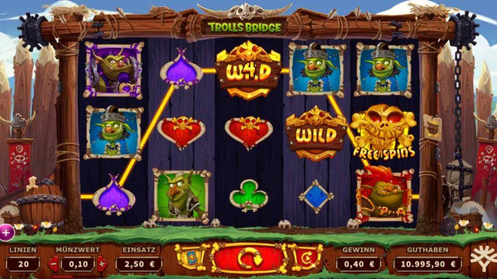Trolls Bridge kostenlos spielen 1