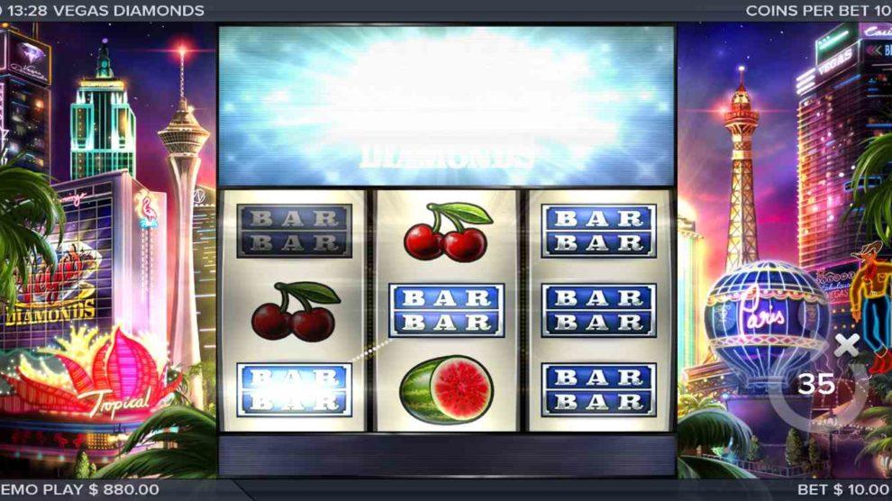 Vegas Diamonds kostenlos spielen 2