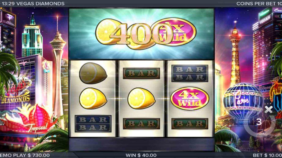 Vegas Diamonds kostenlos spielen 1