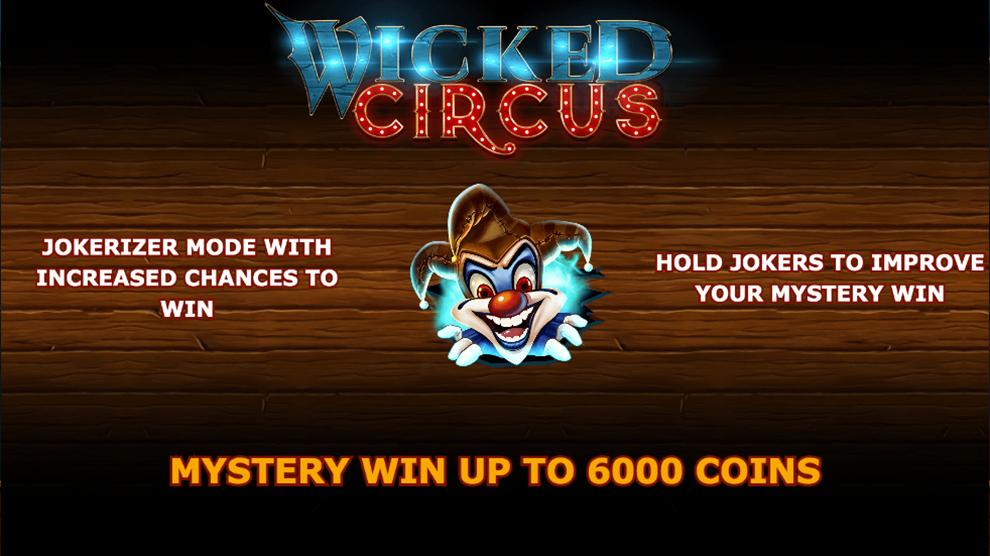 Wicked Circus kostenlos spielen 2