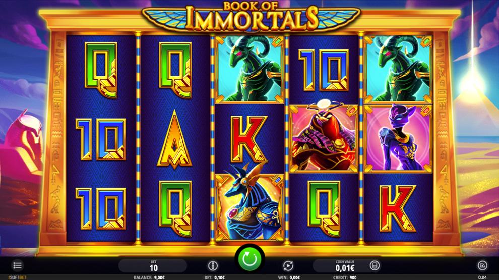 Book Of Immortals kostenlos spielen 2
