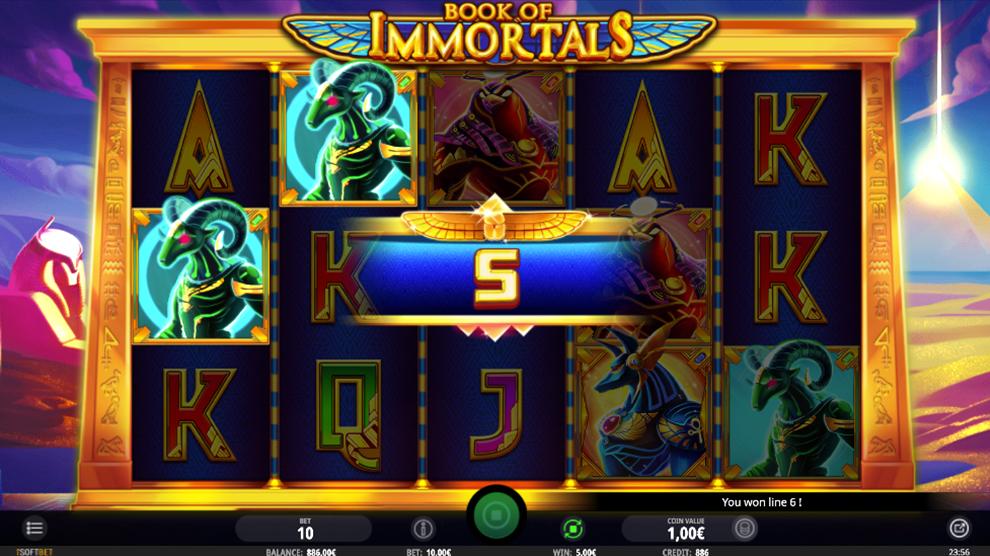 Book Of Immortals kostenlos spielen 3