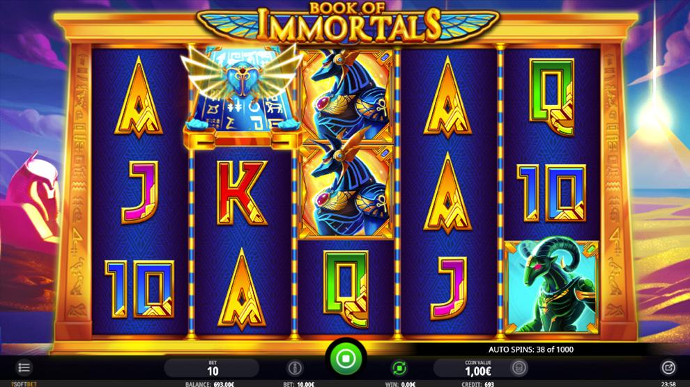 Book Of Immortals kostenlos spielen 4