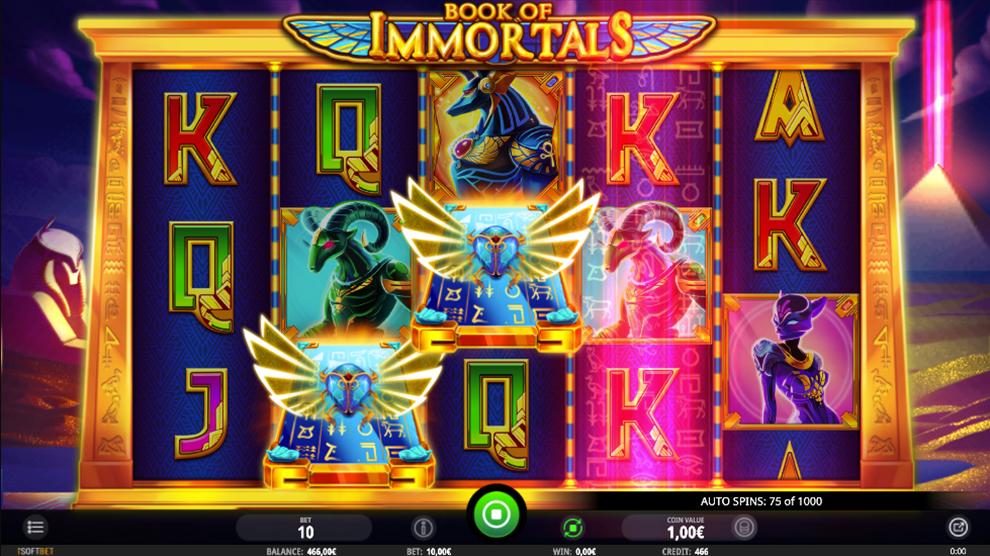 Book Of Immortals kostenlos spielen 5