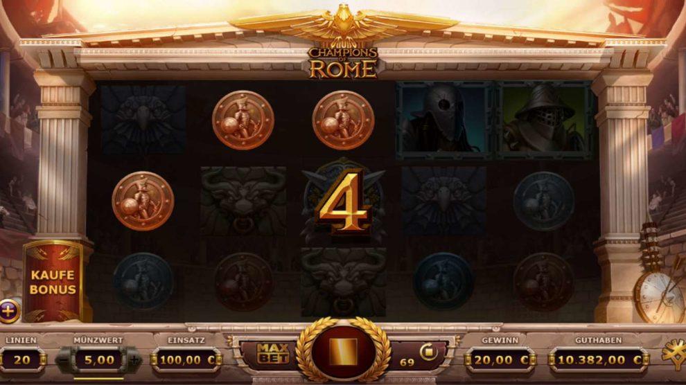 Champions Of Rome kostenlos spielen 3