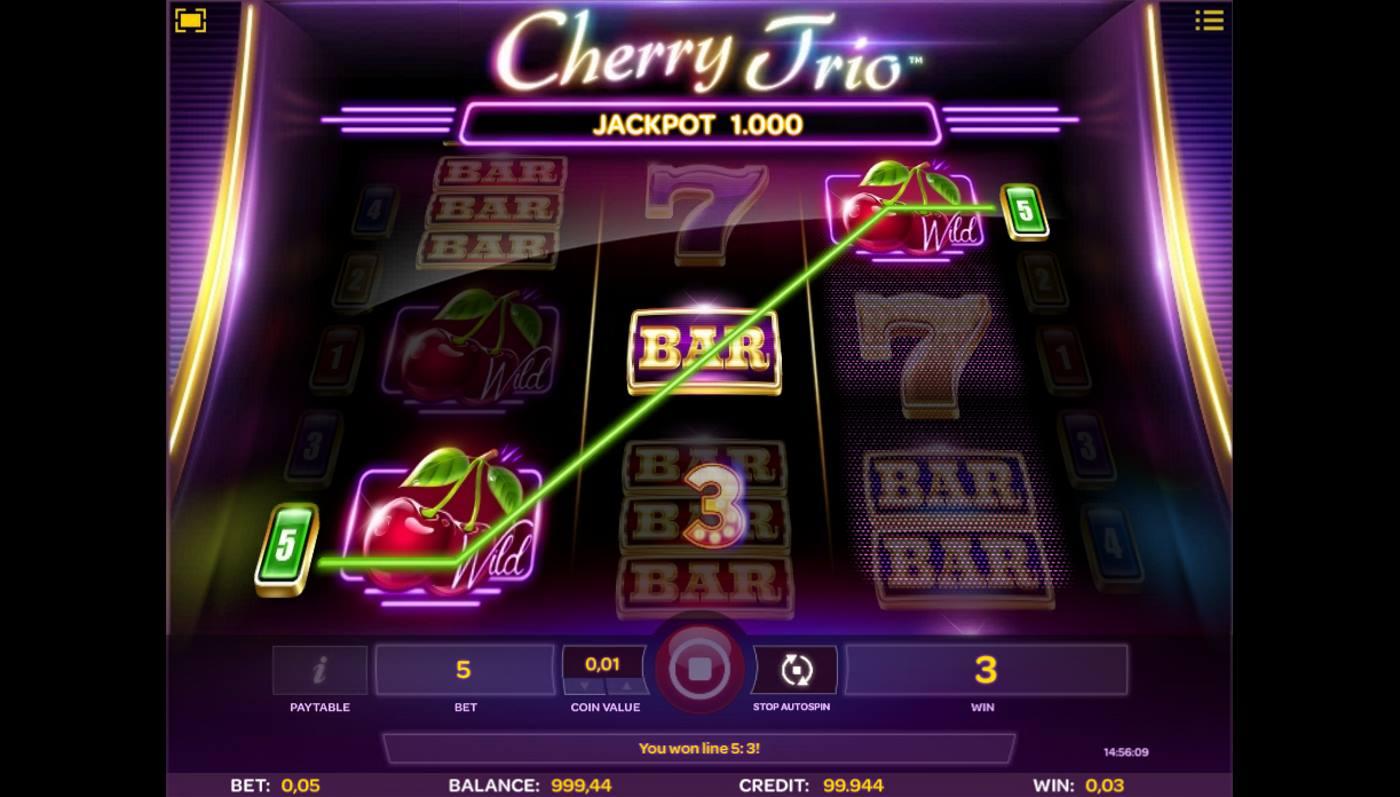 Cherry Trio kostenlos spielen 1