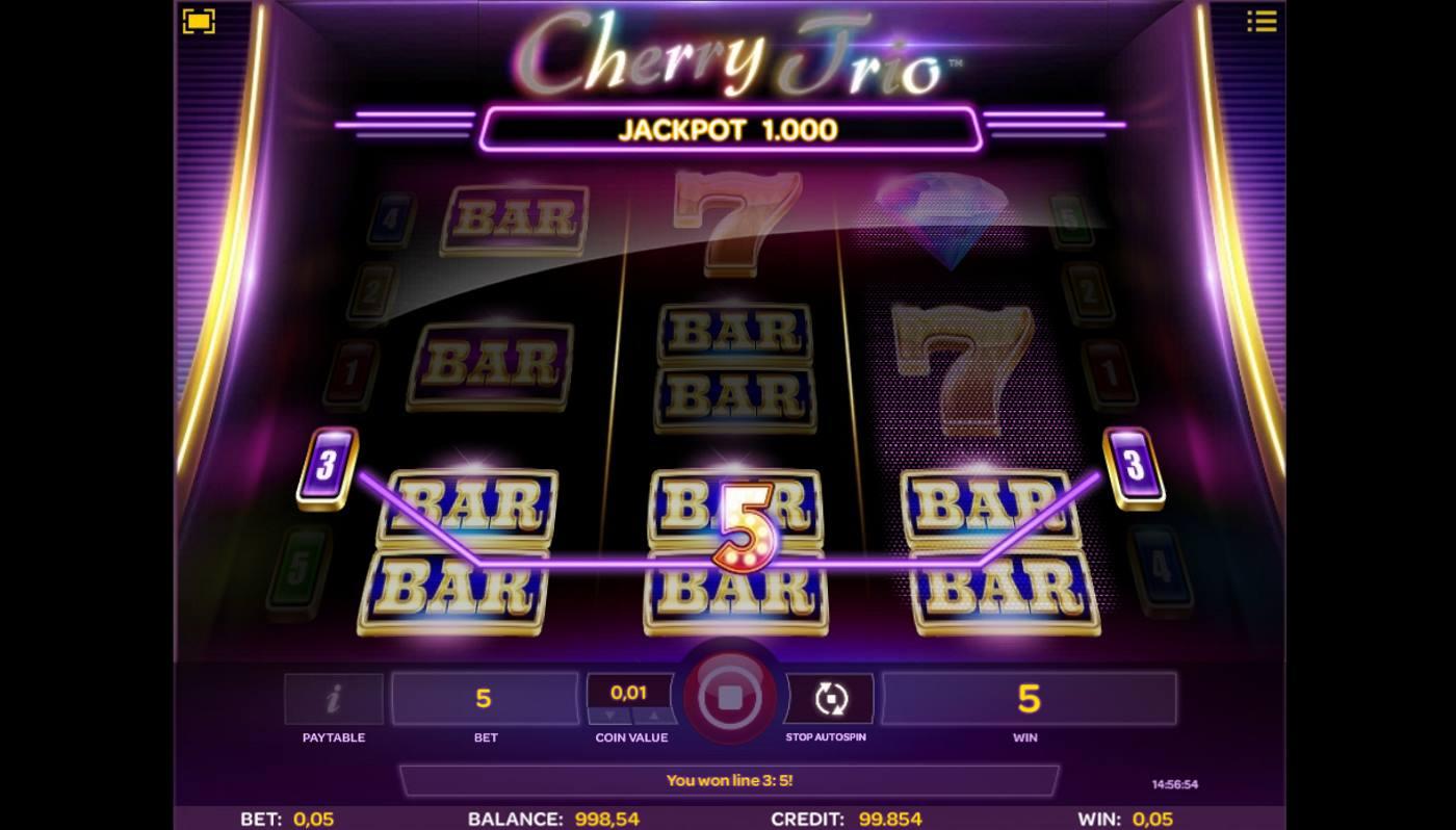 Cherry Trio kostenlos spielen 2
