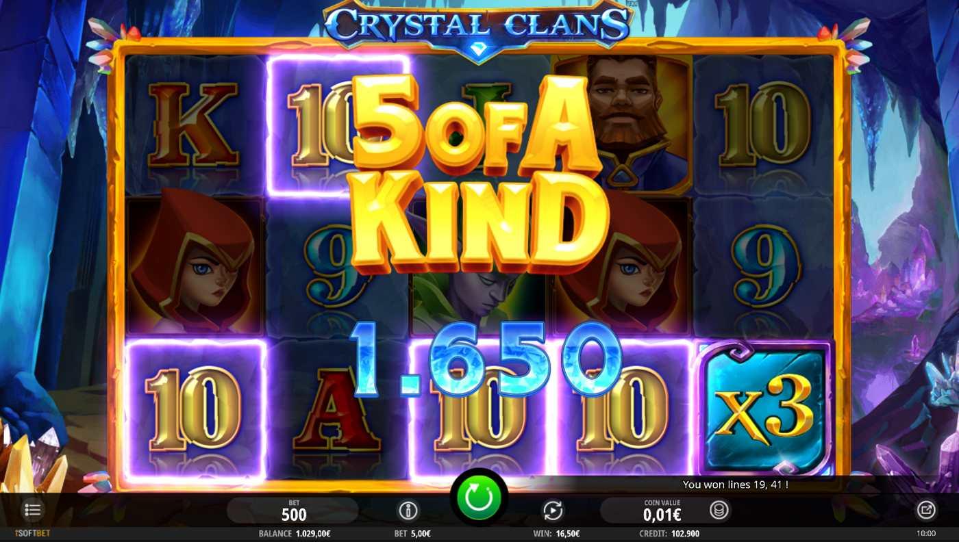 Crystal Clans kostenlos spielen 1