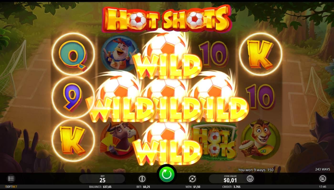 Hot Shots kostenlos spielen 1