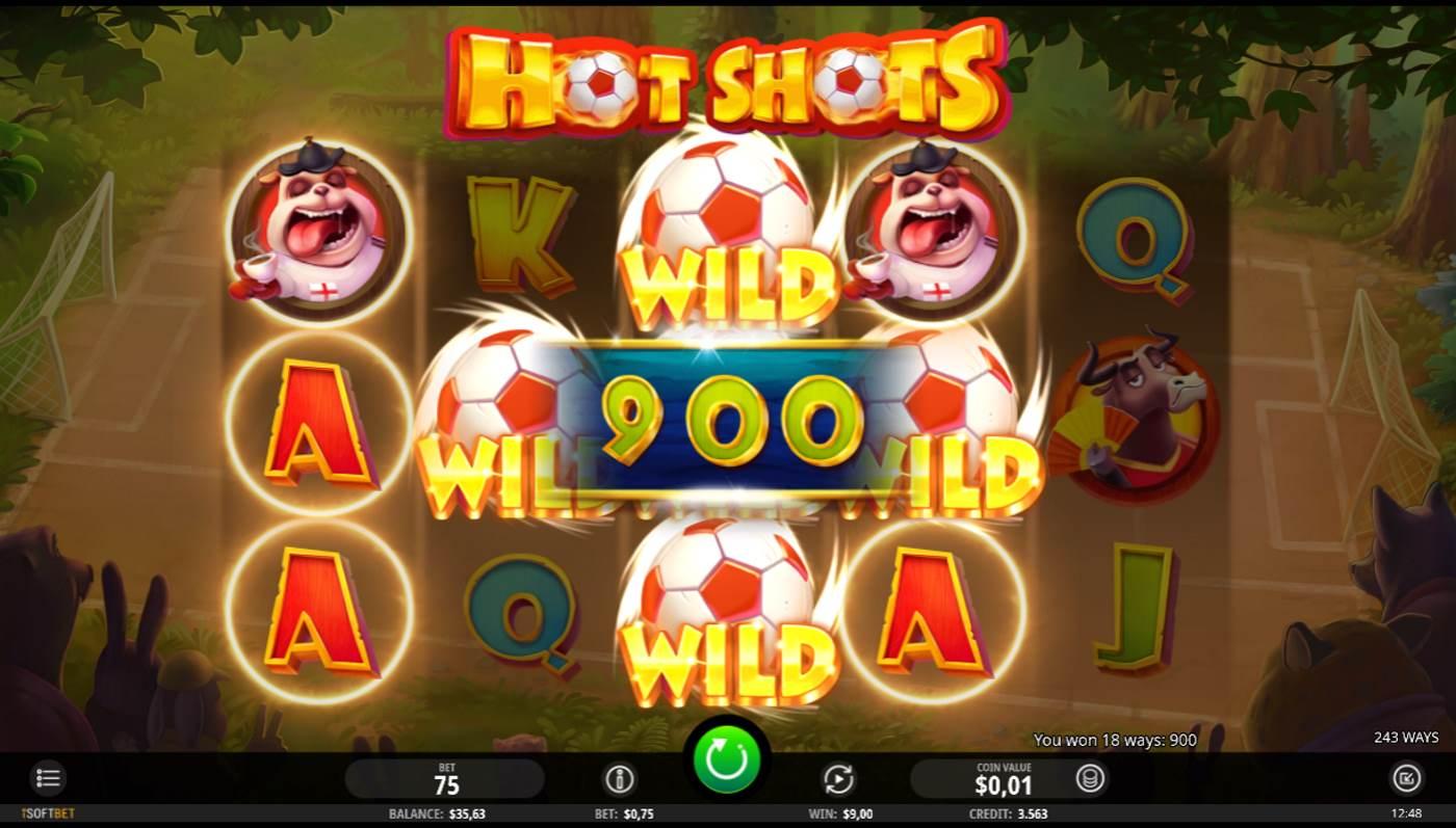 Hot Shots kostenlos spielen 2