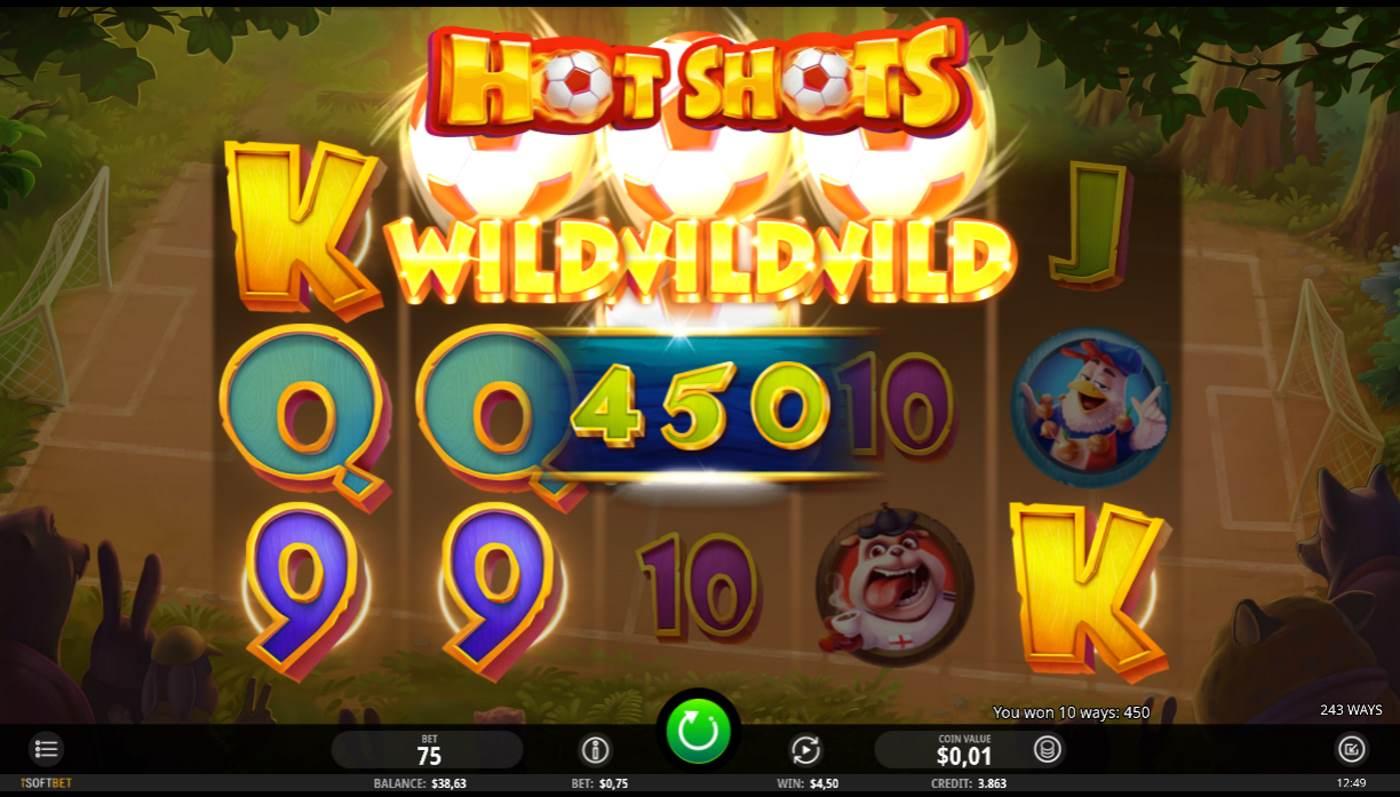 Hot Shots kostenlos spielen 3
