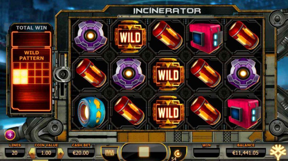 Incinerator kostenlos spielen 1