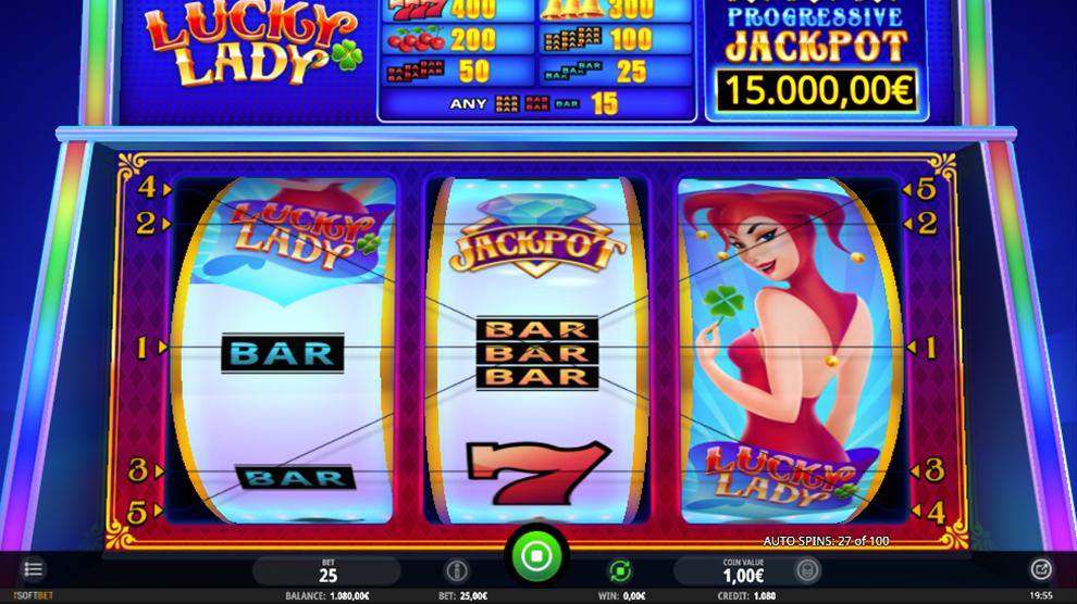 Spielgeld Casino Lucky Lady