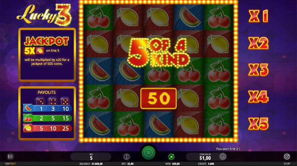 Lucky3 kostenlos spielen 5