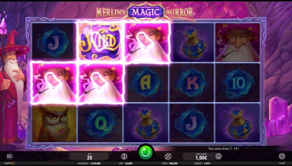 Merlins Magic Mirror kostenlos spielen 1