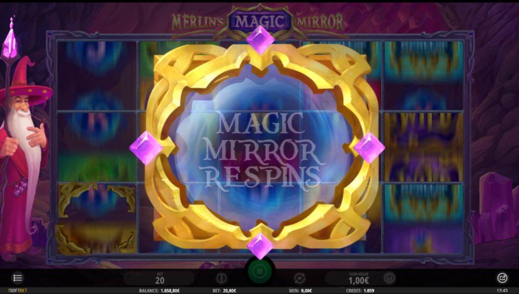 Merlins Magic Mirror kostenlos spielen 2