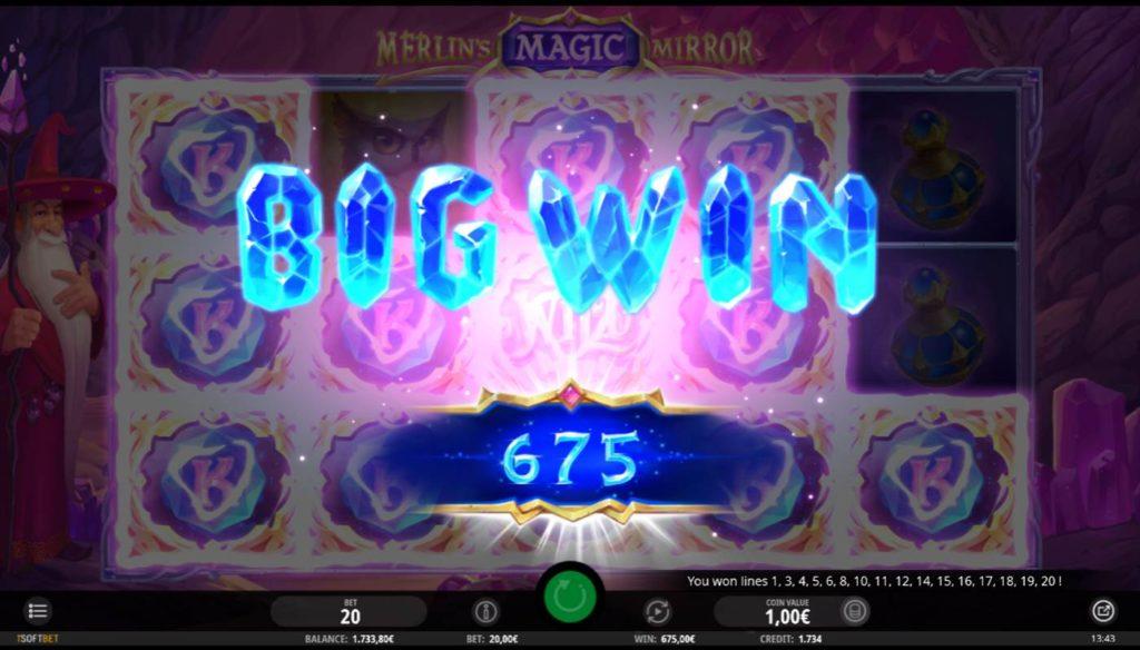 Merlins Magic Mirror kostenlos spielen 3