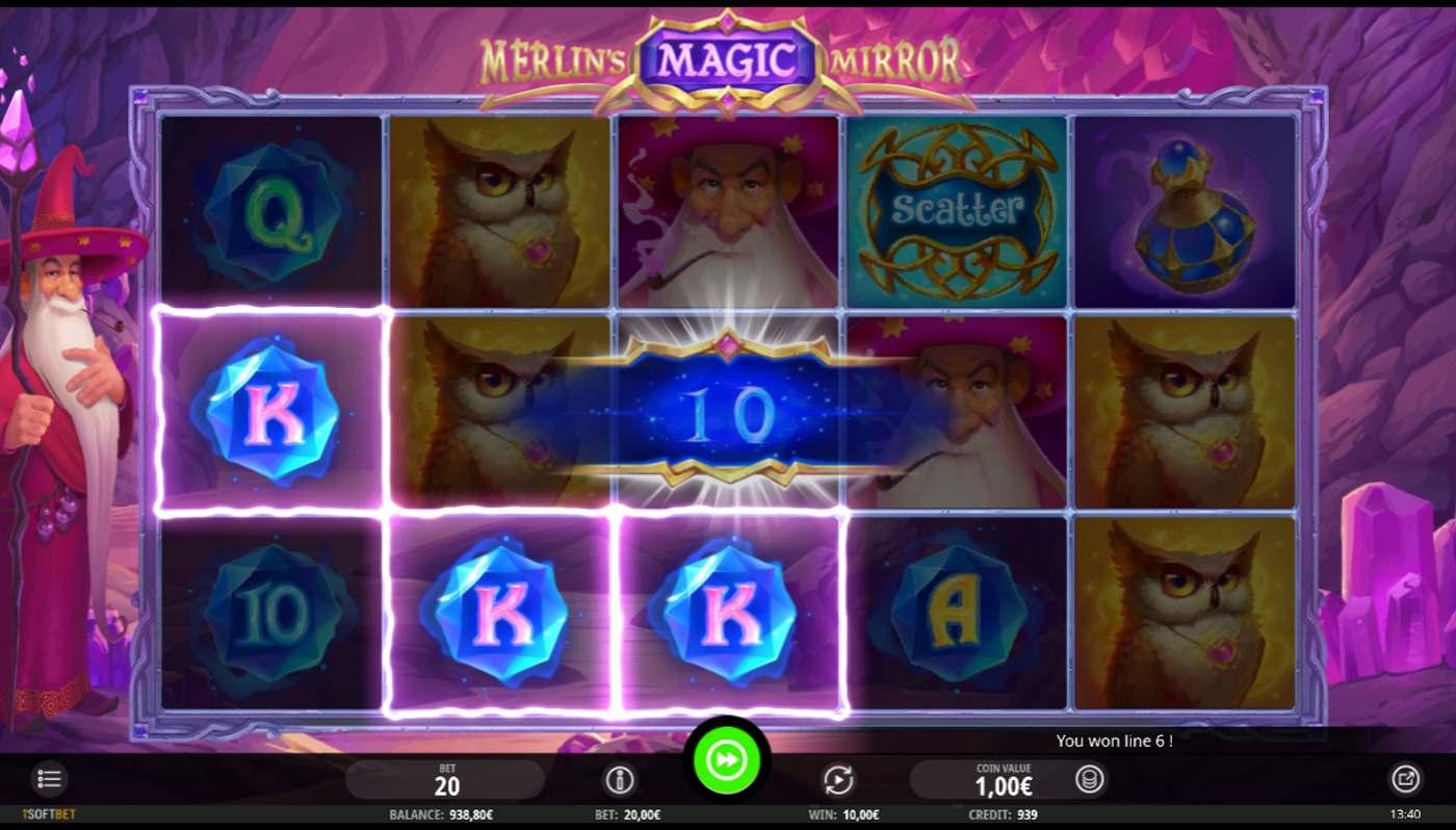 merlins magic mirror kostenlos spielen