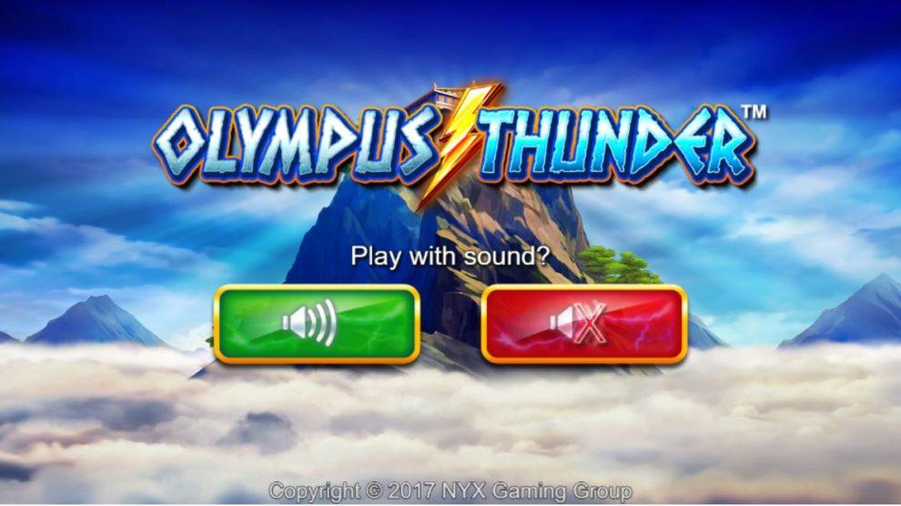 olympus thunder sound