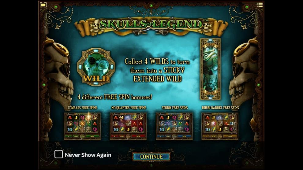Skulls of Legend kostenlos spielen 3