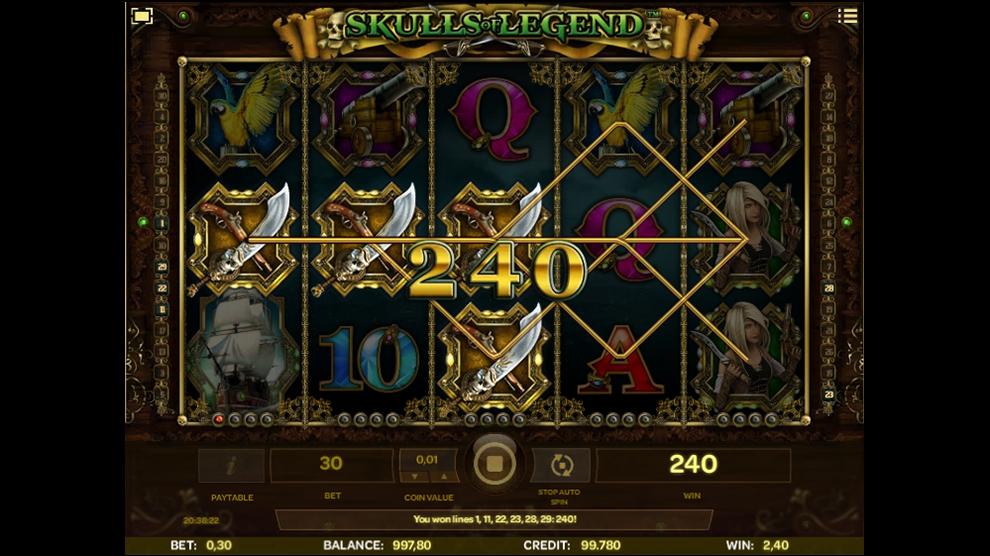 Skulls of Legend kostenlos spielen 4