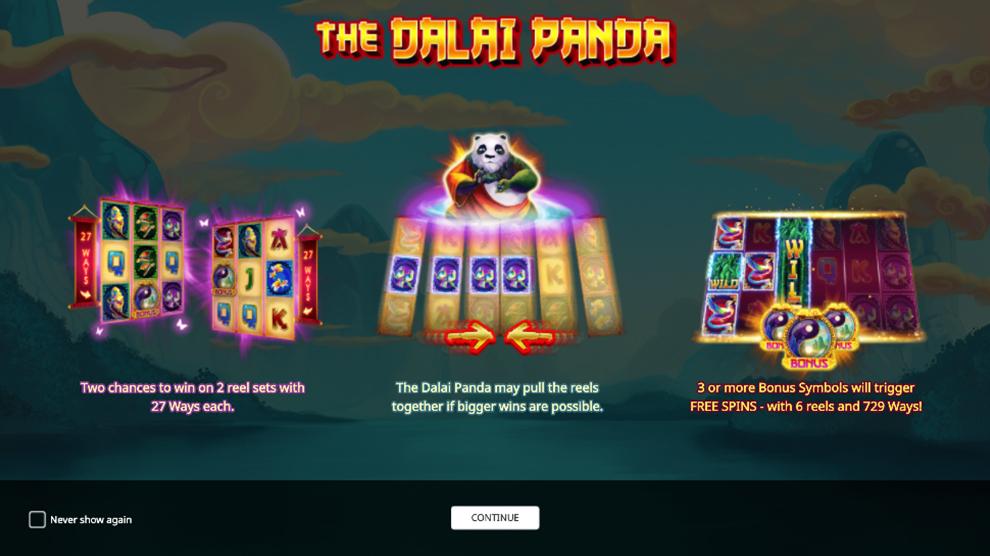 The Dalai Panda kostenlos spielen 2