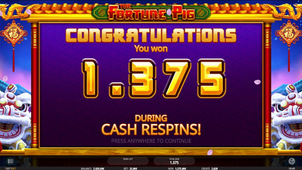 Fortune Pig kostenlos spielen 3