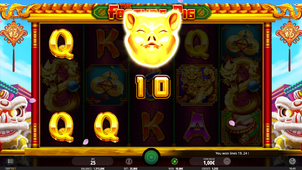 Fortune Pig kostenlos spielen 5