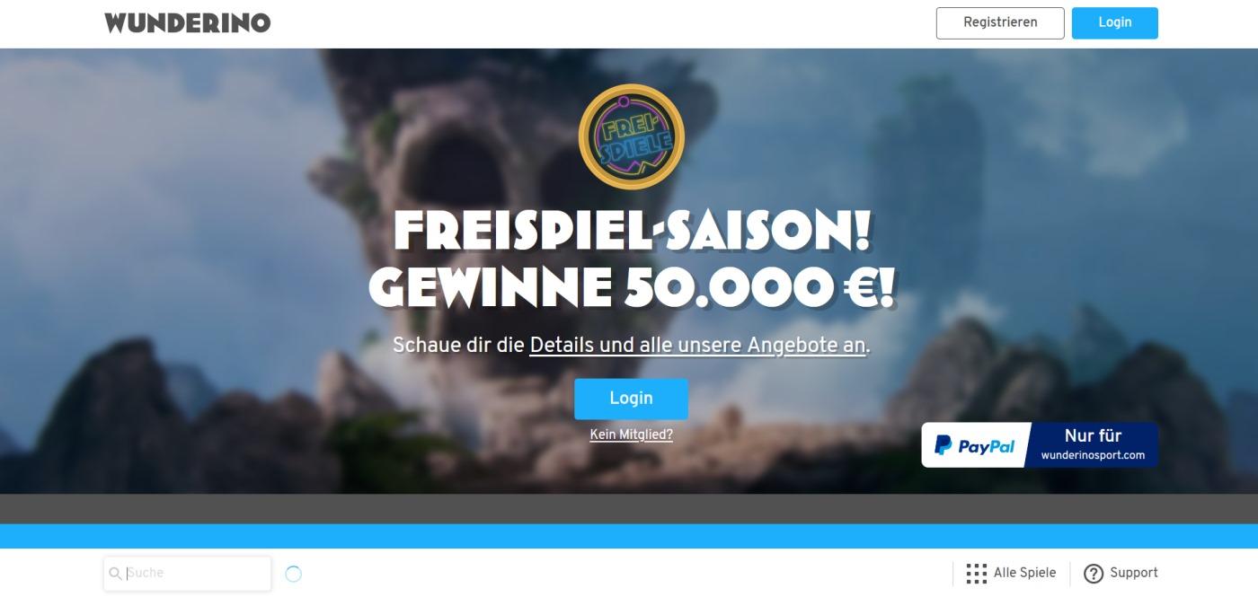 Wunderino Casino 1