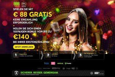 88€ gratis bonus ohne einzahlung