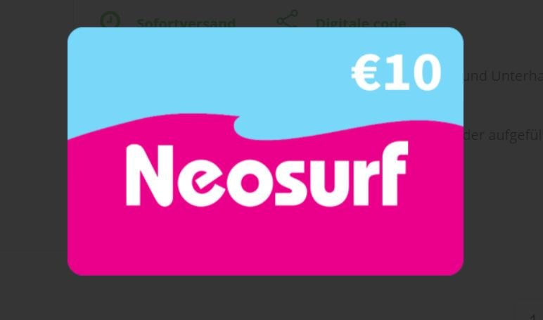 neosurf karte