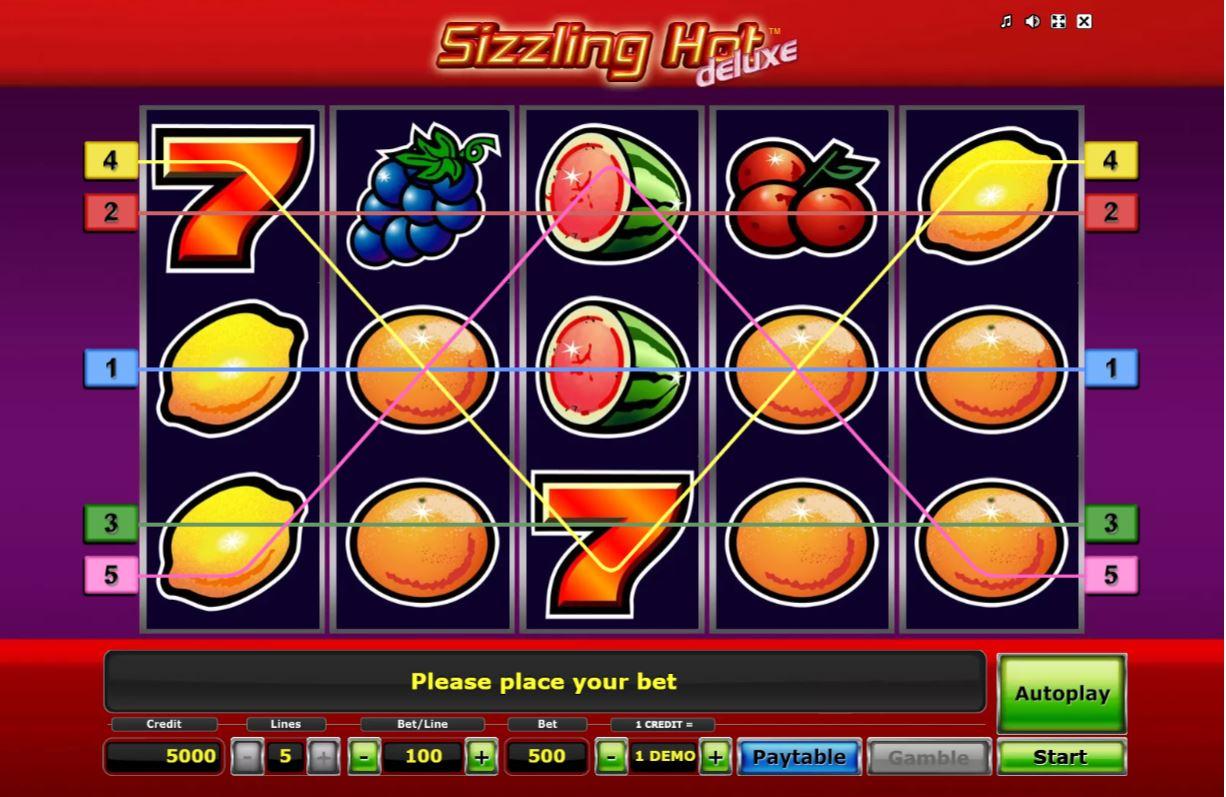 Sizzling Hot Spielen Kostenlos