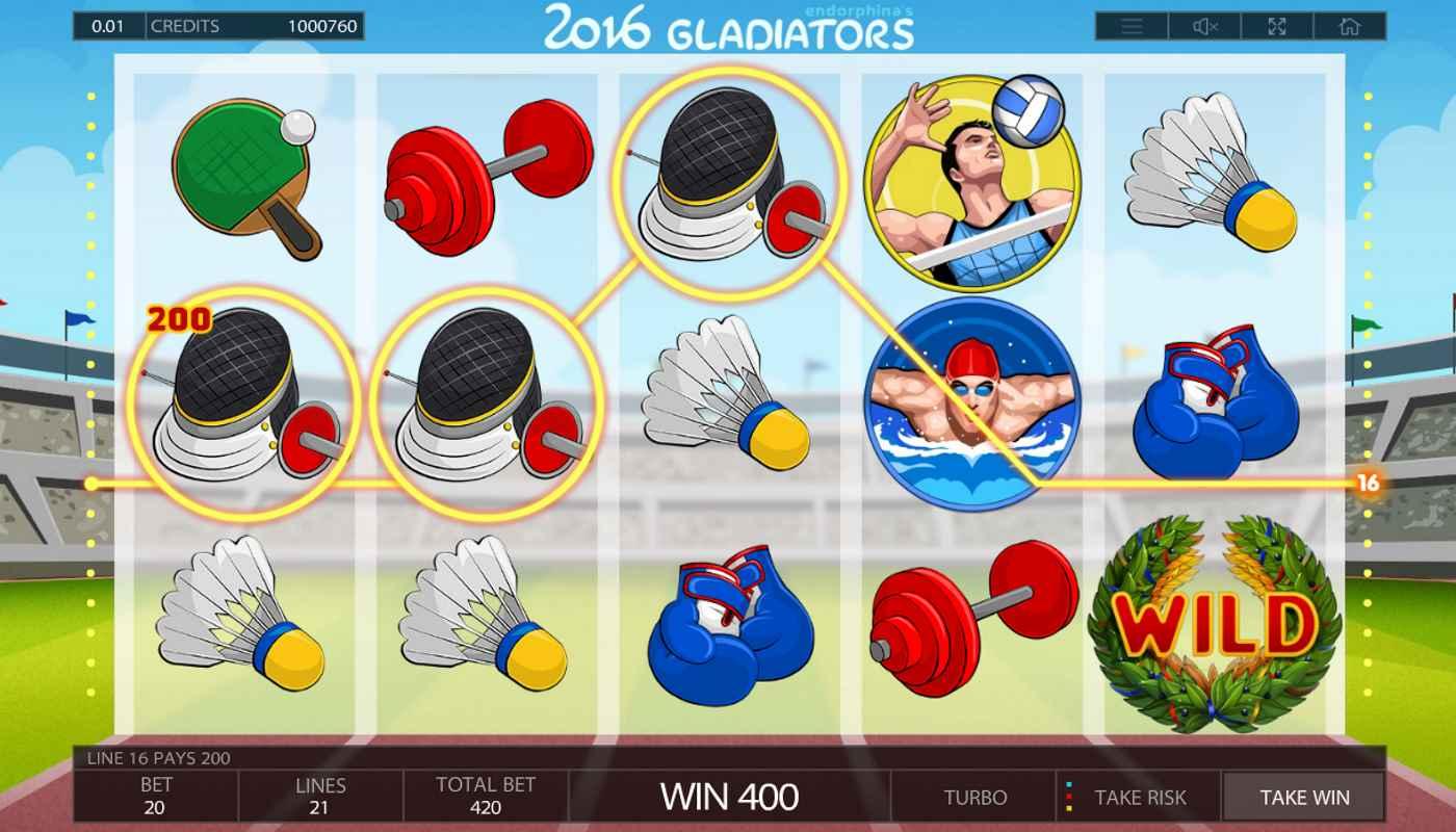 2016 Gladiators kostenlos spielen 2