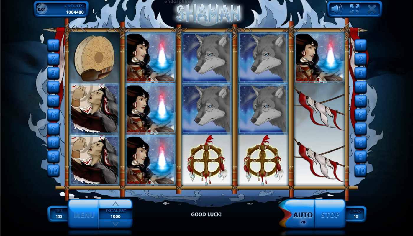 Shaman kostenlos spielen 1