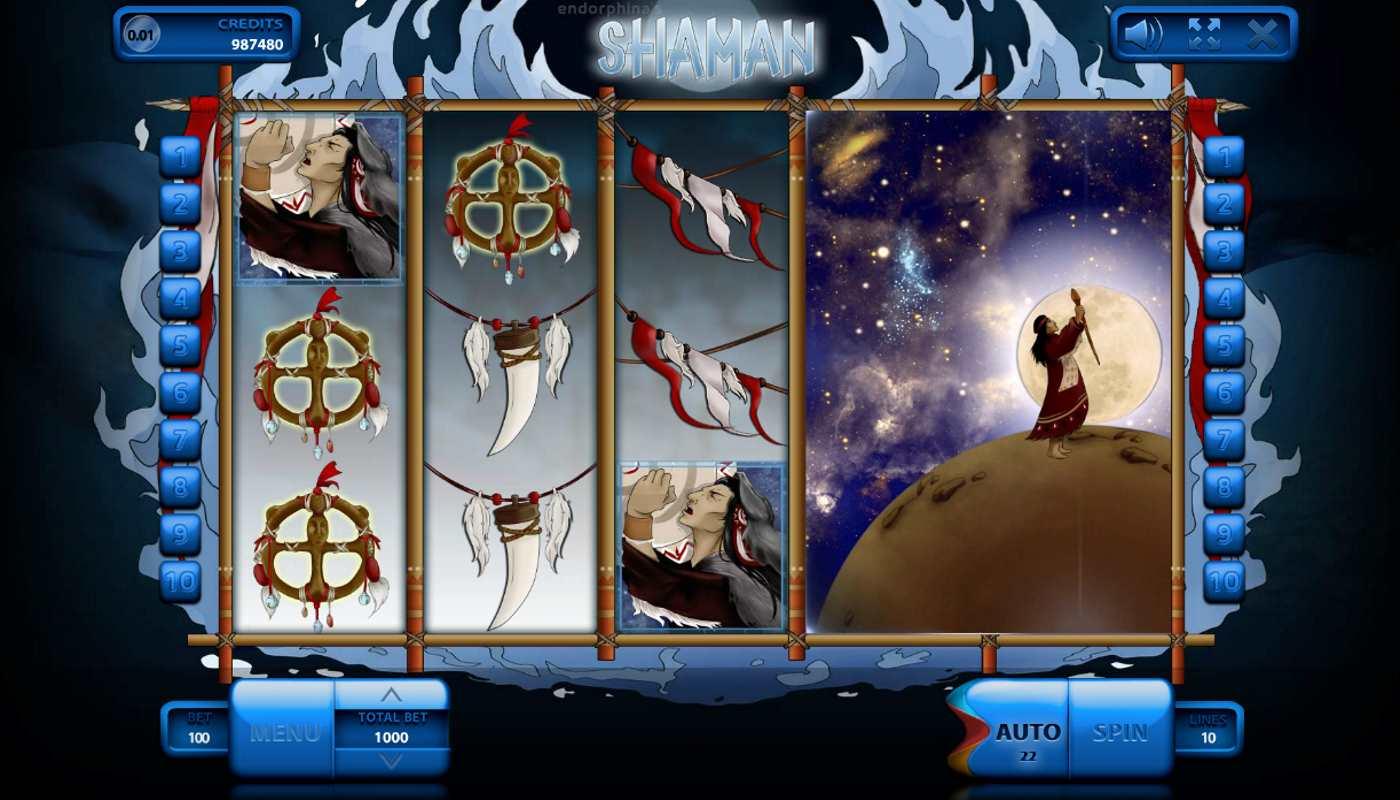 Shaman kostenlos spielen 3