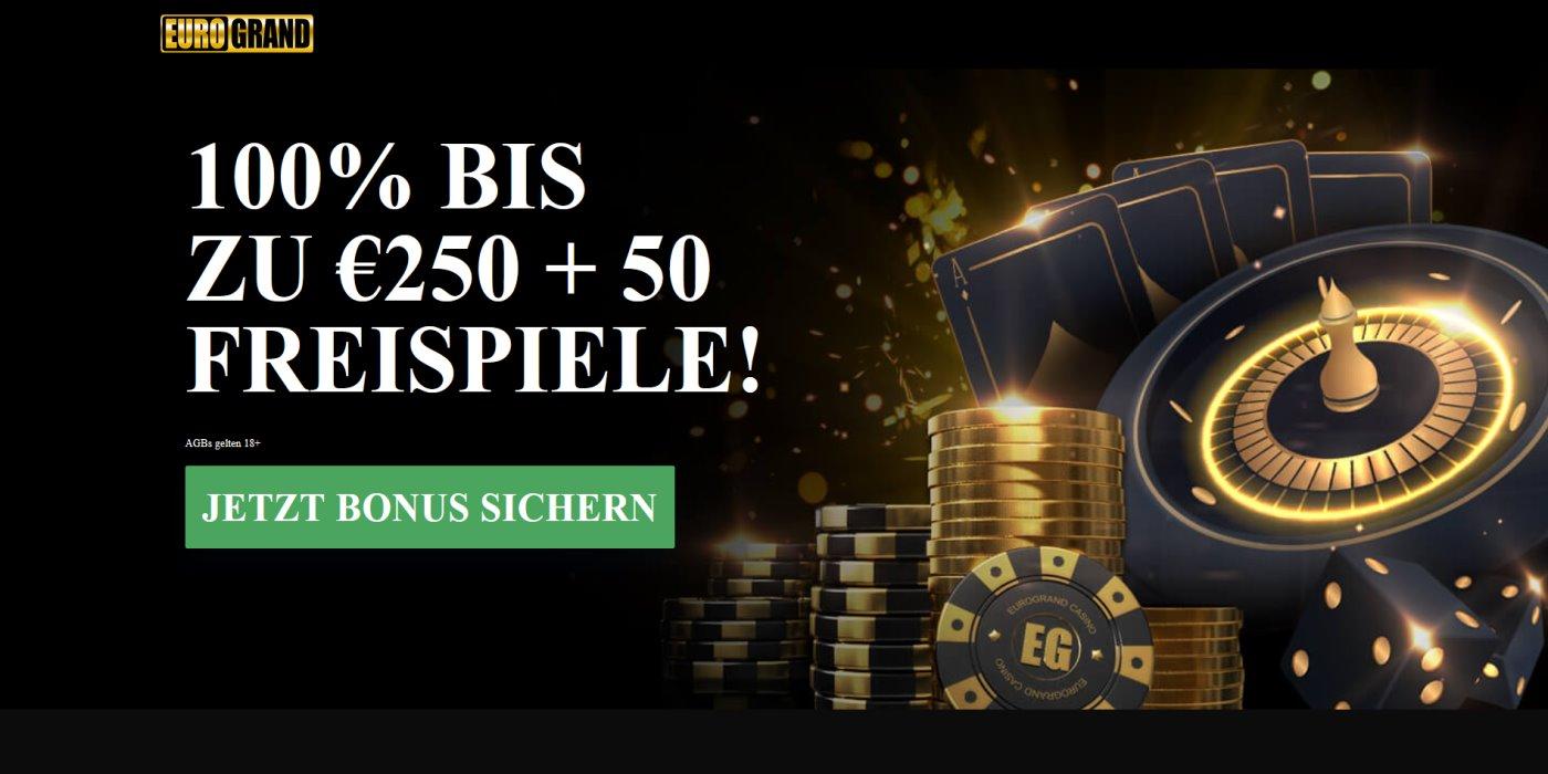 Eurogrand Bonus sichern