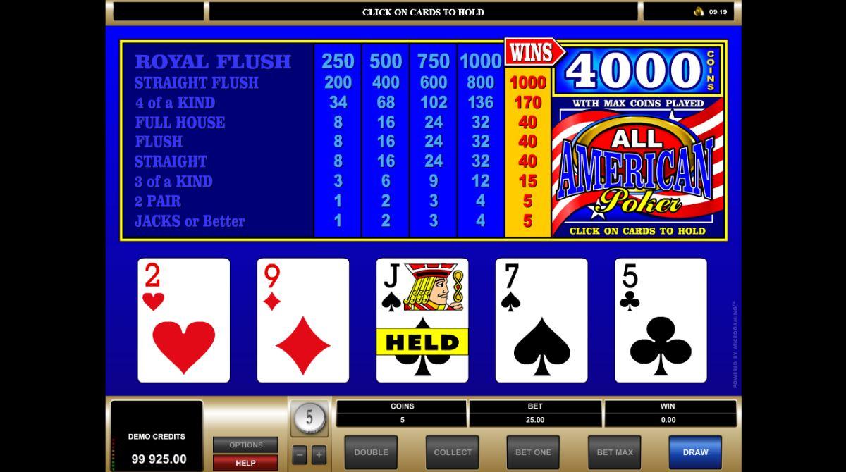 American Poker Kostenlos Spielen
