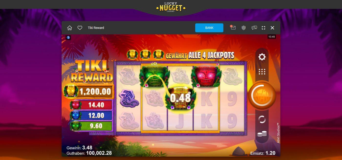 Lucky Nugget kostenlos