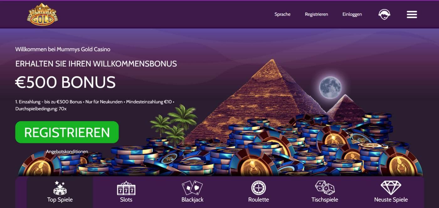 Mummys Gold Casino Startseite