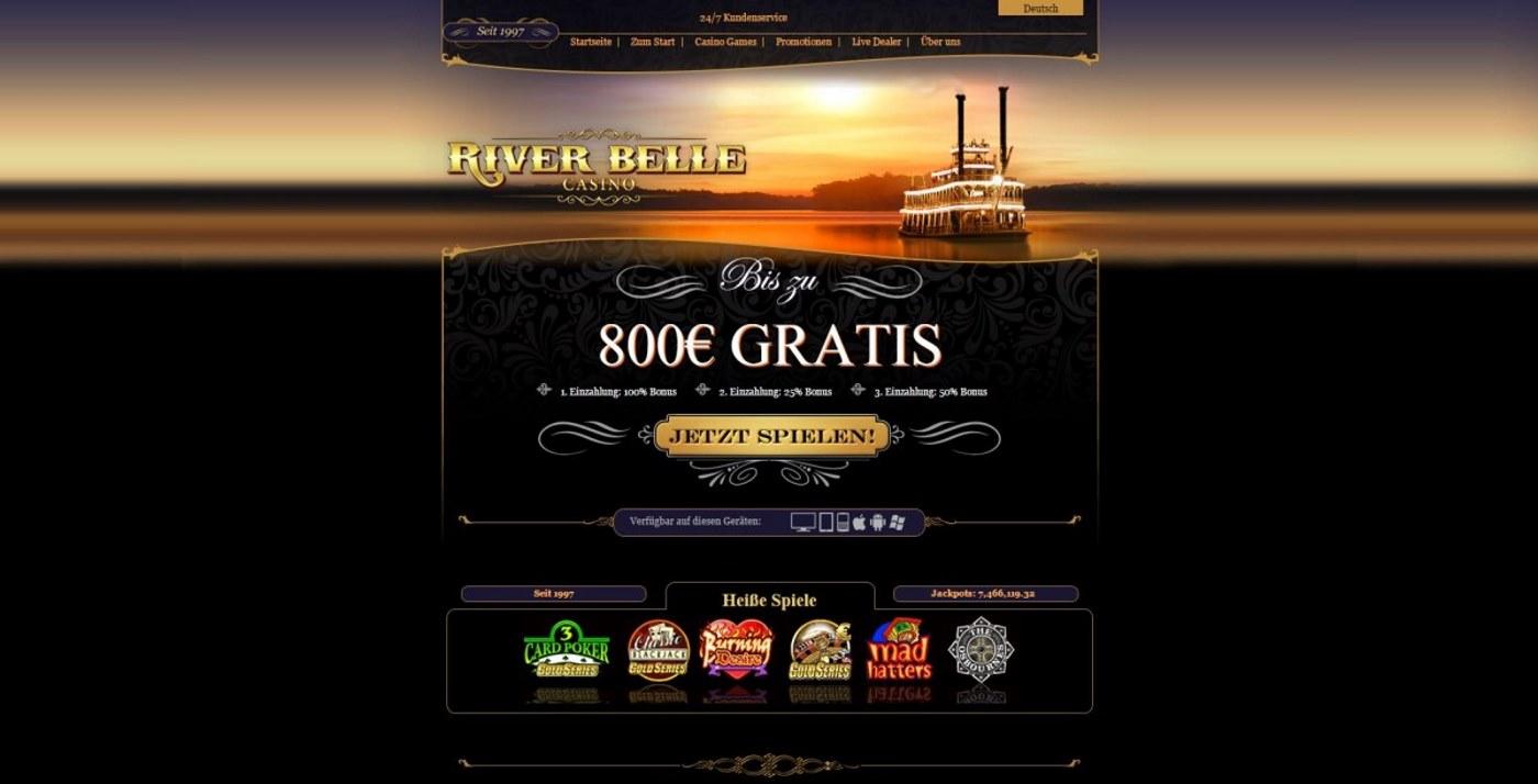 River Belle Casino Bonus
