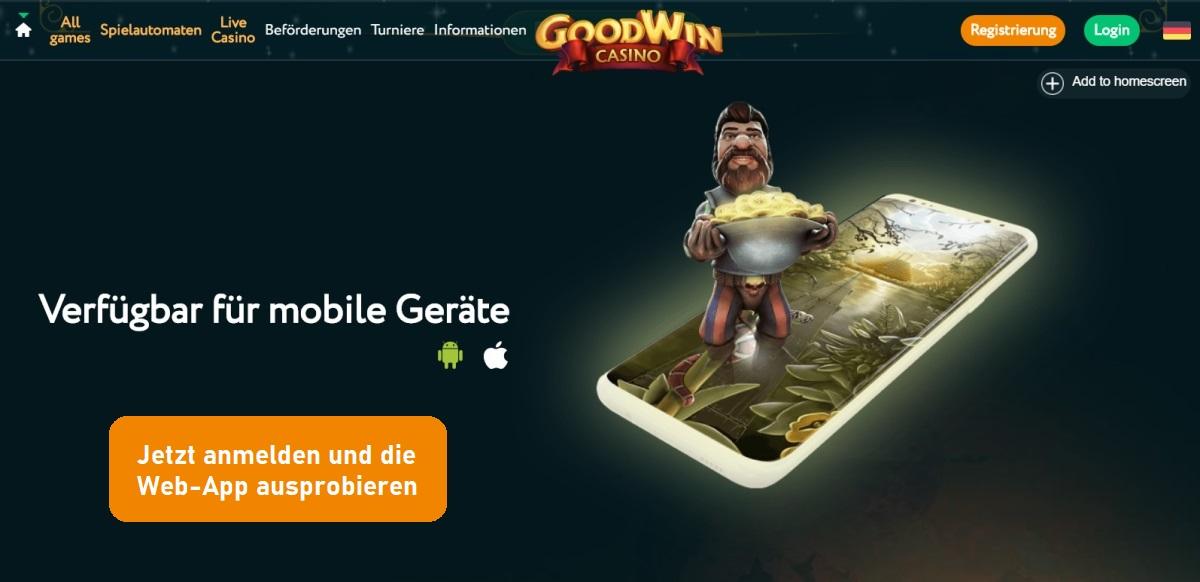 Goodwin Mobile App